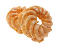 Two crullers Stock Photography