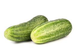 Two cucumbers. Stock Photos