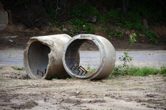 Two culverts) Royalty Free Stock Photo