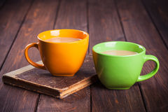 Two cup of coffee Royalty Free Stock Image