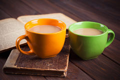 Two cup of coffee Stock Photography
