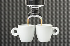 Two cup Royalty Free Stock Photo