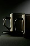 Two cup still-life Royalty Free Stock Photos