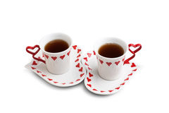 Two cup of tea Royalty Free Stock Photography