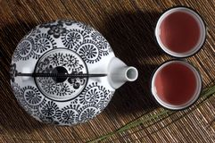 Two cup of tea Royalty Free Stock Photo