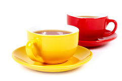 Two cups Stock Image