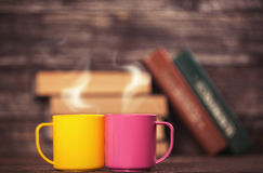 Two cups Royalty Free Stock Photos