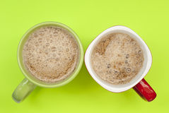 Two cups of coffee Stock Photography