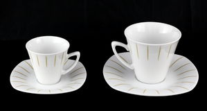 Two Cups For Coffee And Tea. Royalty Free Stock Image