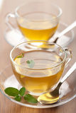 Two cups of green tea Royalty Free Stock Photography