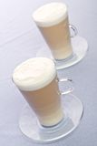 Two Cups of Latte Stock Images