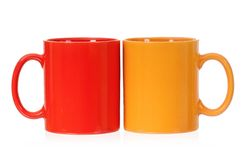 Two cups Stock Photography