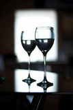 Two cups for wine Stock Photography