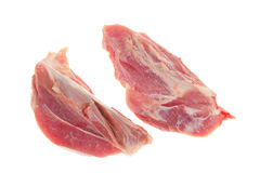 Two Cut Of Lean Pork Stock Image