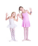 Two cute Ballerinas Royalty Free Stock Image