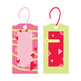 Two cute bookmarks Royalty Free Stock Photo