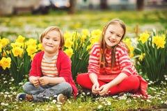 Little kids portrait Royalty Free Stock Photo