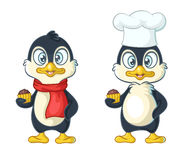 Two cute penguins Royalty Free Stock Photography