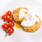 Two cutlets Royalty Free Stock Image