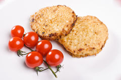Two cutlets Royalty Free Stock Photos