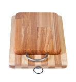 Two cutting boards. Royalty Free Stock Photo