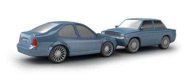 Two Cyan Cars Stock Photo