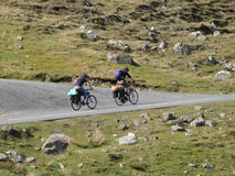 Two cyclists Royalty Free Stock Images
