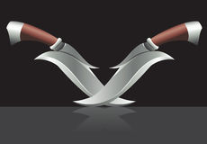 Two daggers Stock Photo