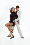 Two Dancers Royalty Free Stock Image