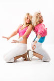 Two dancers Royalty Free Stock Photo