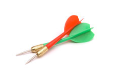 Two darts Royalty Free Stock Image