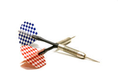 Two darts Royalty Free Stock Photo