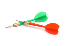 Two darts Stock Photography