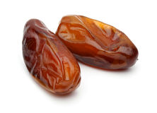Two Date Fruits Royalty Free Stock Photo