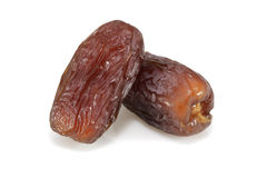 Two Dates fruits Stock Photo