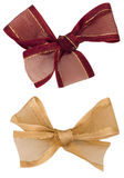 Two decorative bows Stock Photography