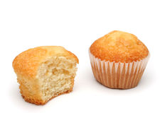Two delicious muffins Stock Photos