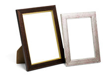 Two desktop picture frames Stock Photos
