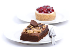 Two desserts Stock Image