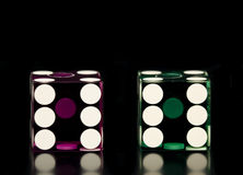 Two Dice Royalty Free Stock Photos