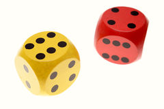 Two dice Royalty Free Stock Image