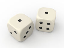 Two Dice Stock Image