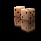 Two Dices Stock Images