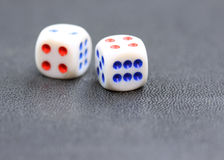 Two dies Stock Photography