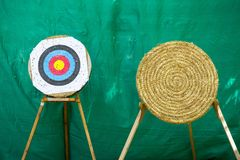 Archery target rings Royalty Free Stock Photos