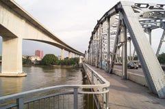 Two different bridges Royalty Free Stock Photos