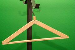 Two different coat hangers Stock Photo