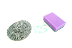 Two different sponges Stock Image