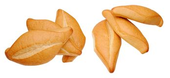Two different view of group three breads Stock Image