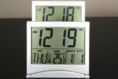 Two Digital clocks Royalty Free Stock Images